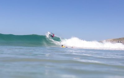 Rip Curl Grom Search goes off in perfect conditions