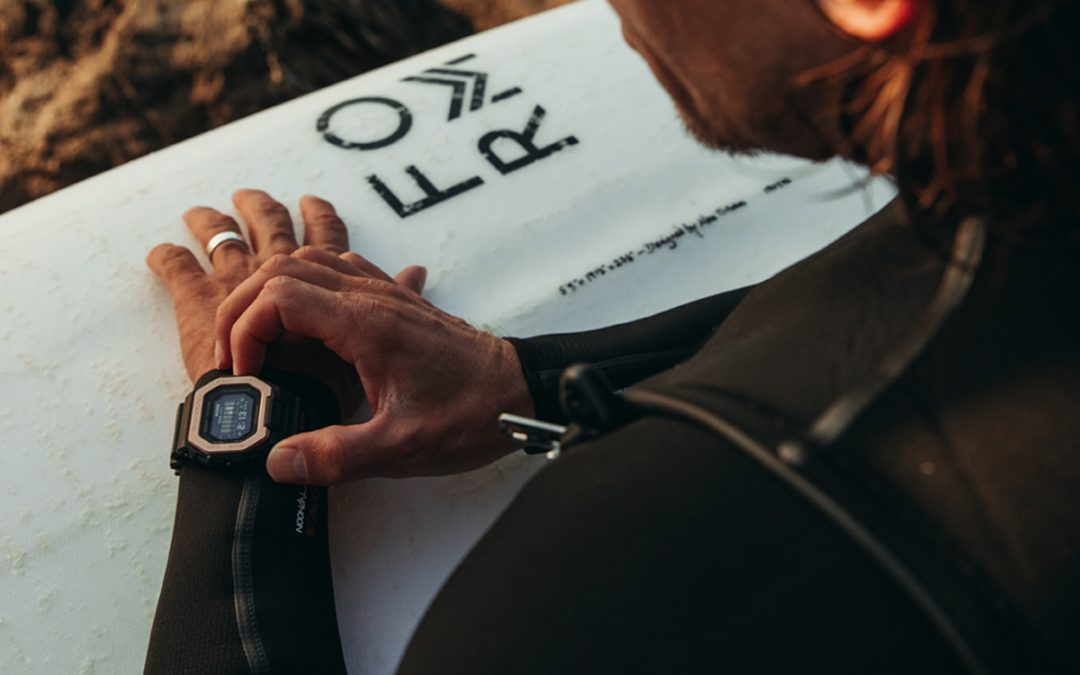 G-SHOCK unveils new surf watches